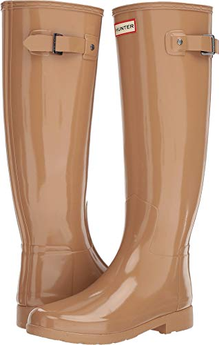 Original Rain Boots Womens Refined Hunter Tawny Gloss vp6F68