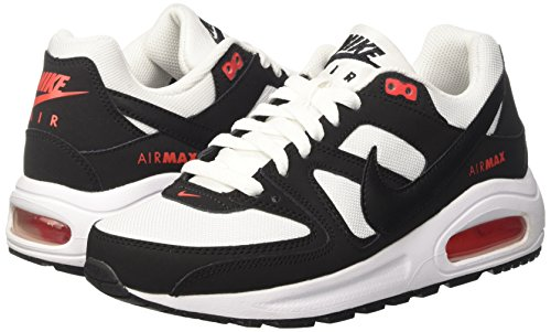 14f4d4e966 Nike Air Max Command Flex (GS) White/Black Kids Youth Shoes Size 6.5 ...