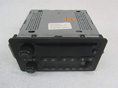 Morad Parts 02-05 Chevy Impala Stereo Radio Reciever Head Unit CD Player Opt UN0 10335223 (Chevy Venture Mileage)