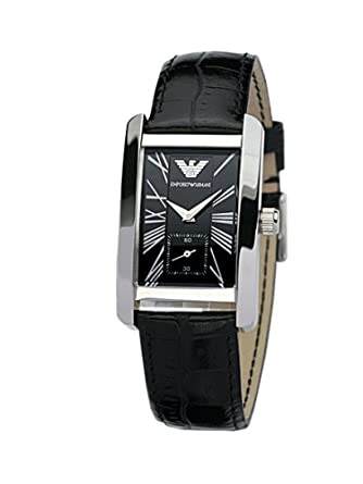 Armani damenuhren schwarz  Emporio Armani Damenuhr AR 0144: Amazon.de: Uhren
