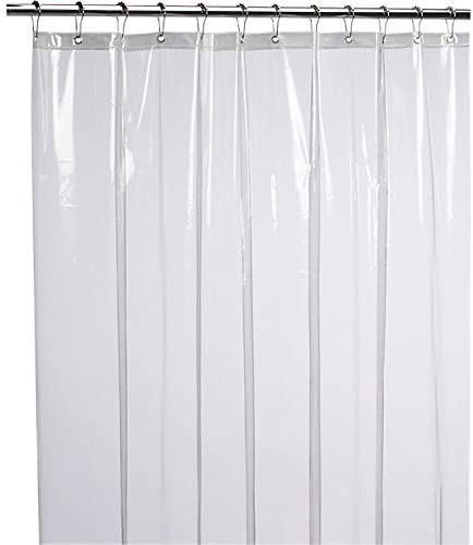 LiBa Mildew Resistant Anti-Microbial Shower Curtain