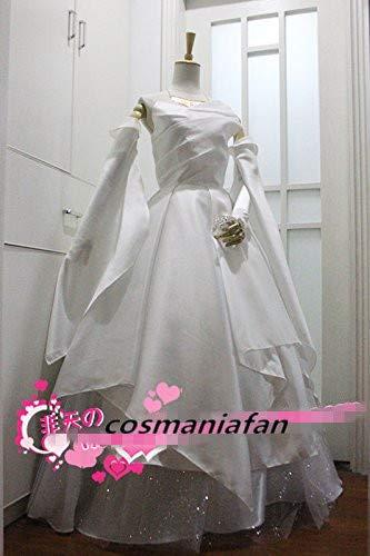 コスプレ衣装 ファイナルファンタジーXV FF15ルナフレーナ・ノックス・フルーレ ドレス ワンピース 風 セット