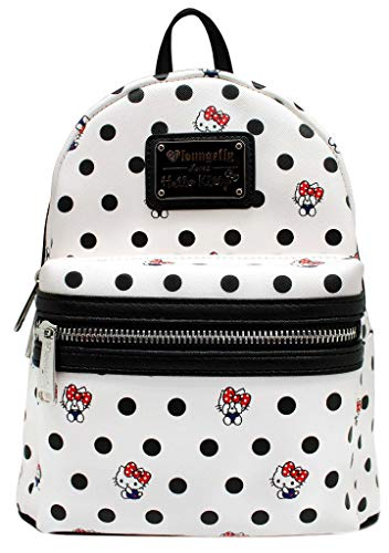 Loungefly x Hello Kitty Polka Dot PU Mini Backpack (One Size, Multi)