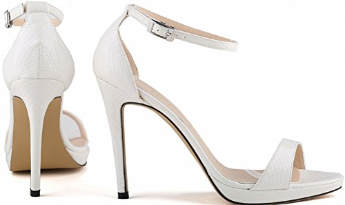 Sandales Blanc Sandales femme Salabobo Compensées Blanc Compensées femme Salabobo qHpgHRt