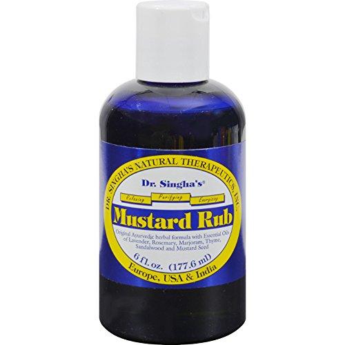 Dr. Singha's Mustard Rub - 6 oz (Faucet Rub)