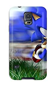 Duvoody Fashion Protective Sonic Case Cover For Galaxy S5