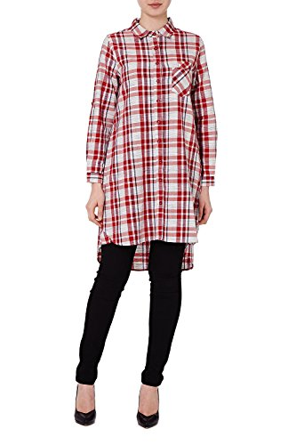 Qed London - Camisas - para mujer Rosso