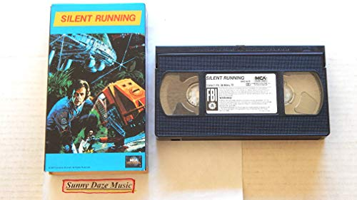 Silent Running – MCA Home Video 1986 – A Used Play-Screened VHS Feature Film Graded 9.5 By The Seller Very Rare – 1971 Sc Fi Movie featuring Bruce Dern – Joan Baez