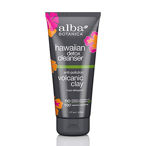 Alba Botanica Hawaiian Detox Anti-Pollution Volcanic Clay Cleanser 6 oz.