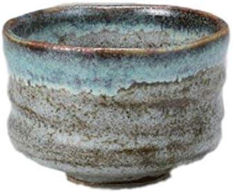 Matcha bowl Japanese tea cup for tea ceremony Aoshino porcelain Chawan 3.9 Aoshino porcelain Chawan 3.9
