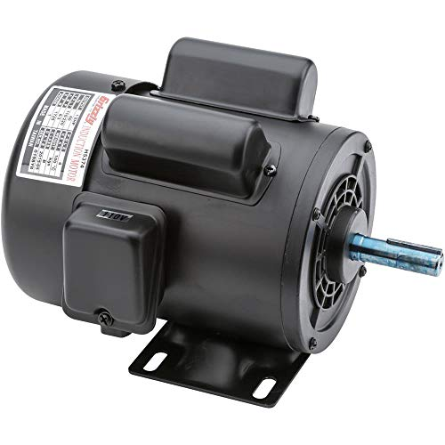 Grizzly H5374 Motor 1/2 HP Single-Phase 1725 RPM TEFC 110V/220V ()