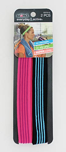 Scunci No-Slip Headwraps, 2 Count (Pack of 3) for sale  Delivered anywhere in USA