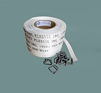 Pro-Tect Plastics' Strapping Bundle (2 Items Total) 1 roll 3/4