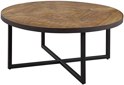 Emerald Home Denton Antique Pine Coffee Table