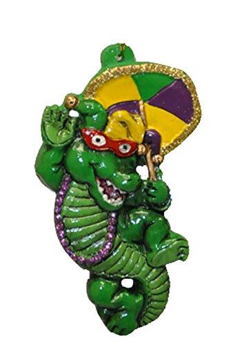 Umbrella Bead (Party Gator Second Line Umbrella Mardi Gras Bead Necklace Spring Break Cajun Carnival New Orleans)