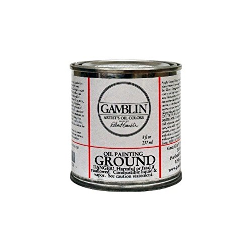 - Oil Painting Ground Size: 16 oz
