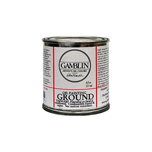 Gamblin Oil Painting Ground 8 oz.