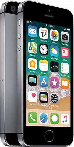 Apple iPhone SE, 1st Generation, 16GB, Space Gray - Fully Unlocked (Renewed)