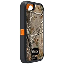 OtterBox Defender Series Case with Realtree Camo for Apple iPhone 5 Xtra Orange black - Case Only