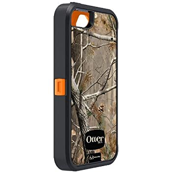 OtterBox Defender Series Case with Realtree Camo for Apple iPhone 5 - Xtra Orange - Case Only