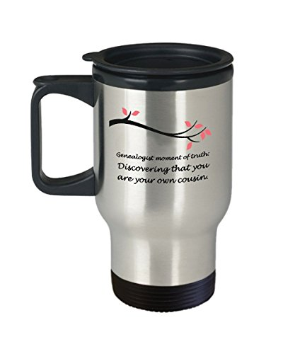 Genealogy Images History (Genealogy Genealogist Funny Travel Mug Gift Coffee Cup Family History)