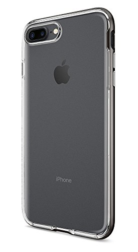 Spigen Neo Hybrid Crystal iPhone 7 Plus Case with Flexible Casing and Hard Bumper Frame for Apple iPhone 7 Plus 2016 - Gunmetal