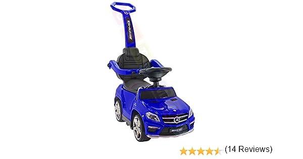 Coche correpasillos infantil, 4 en 1, Mercedes-Benz GL63 AMG ...