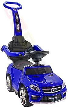Rutschauto Mercedes-Benz GL63 AMG Lizenz Rutscher Kinderauto Rutschfahrzeug 4in1 (blau) Kinderfahrzeug