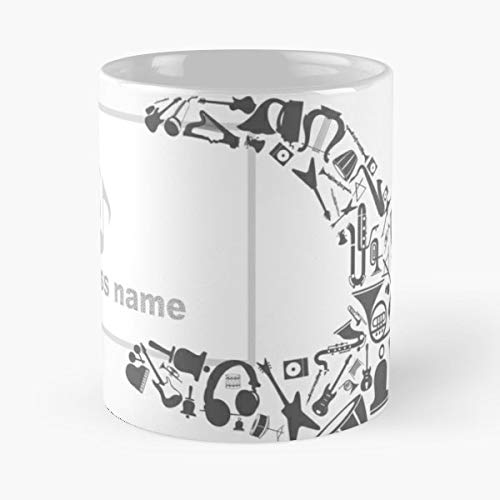 Abstraction Body Cut Away Disk - 11 Oz Coffee Mugs Unique Ceramic Novelty Cup, The Best Gift For Holidays.