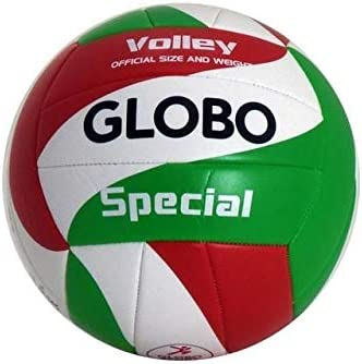 GLOBO Talla 5 Volley Ball PVC 2mm desflado Balón Voleibol Playa ...