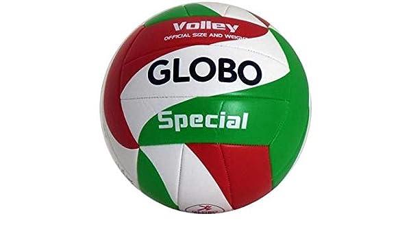 GLOBO Talla 5 Volley Ball PVC 2mm desflado Balón Voleibol Playa ...