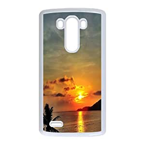 island CAD8032093 Phone Back Case Customized Art Print Design Hard Shell Protection LG G3