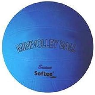 Softee 80655.028Ballon Mini Volley-ball, bleu, S