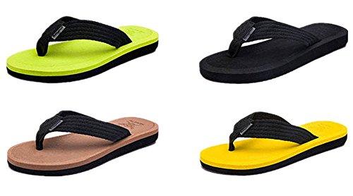Flop Sandals Beach Comfortable Mens Green ANBOVER Thong Comfortable Thong Flip ANBOVER Mens T604wvxq