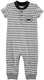 Baby Boys Striped Jumpsuit