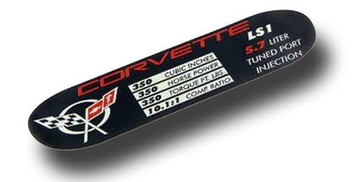 pec Plate C5 350HP LS1 (C5 Ls1 Corvette)
