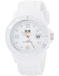 Unisex SI.WE.U.S.09 Sili Collection White Plastic and Silicone Watch