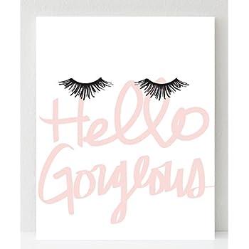 amazon com flamingo print makeup print fashion print pink art