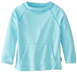 i play. Baby Breatheasy Sun Protection Shirt, Light Aqua, 18-24 Months