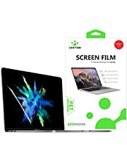 LENTION Clear Screen Protector for 2019-2016 MacBook Pro (13-inch, with 2/4 Thunderbolt 3 Ports) - Model A2159 / A1989 / A1708 / A1706, HD Protective Film with Hydrophobic and Oleophobic Coating