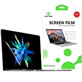 LENTION Clear Screen Protector Compatible for 2016-2019 MacBook Pro (13-inch, with 2/4 Thunderbolt 3 Ports) - Model A1706/A1708/A1989/A2159, HD Protective Film with Hydrophobic and Oleophobic Coating