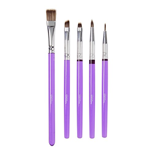 Wilton Cake Decorating Tools, 5-Piece Brush Set -