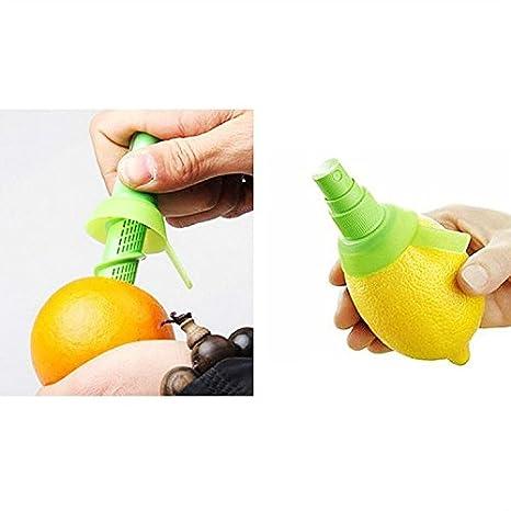 Compra Manual exprimidor de zumo de limón Spray Mist Naranja Fruta gadge pulverizador utensilios de cocina en Amazon.es