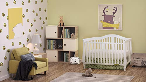 Athena AFG Desiree 4-in-1 Convertible Crib White