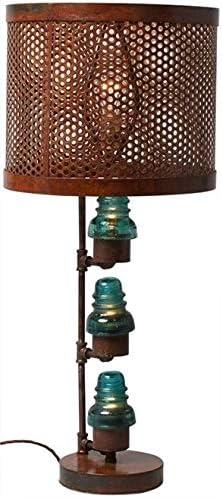 Vintage glass metal insulator