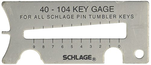 Schlage 40-104 Key Gauge ()