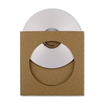 Amazon.com: Guided Products ReSleeve View Recycled Cardboard CD ...