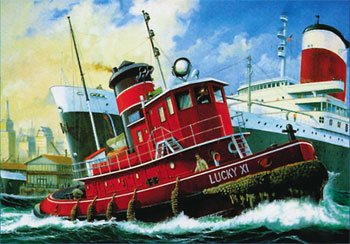 Revell Harbour Tug  Boat (Ship Models To Build)