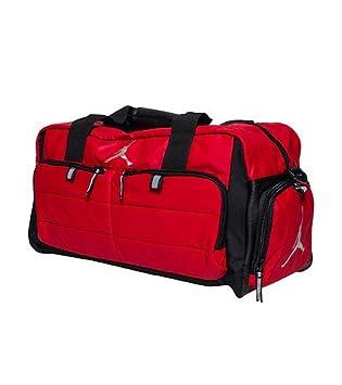 Nike AIR JORDAN JUMPMAN All World Sport Duffel Bag (Red)  Amazon.co ... 2e4df6d61b73a