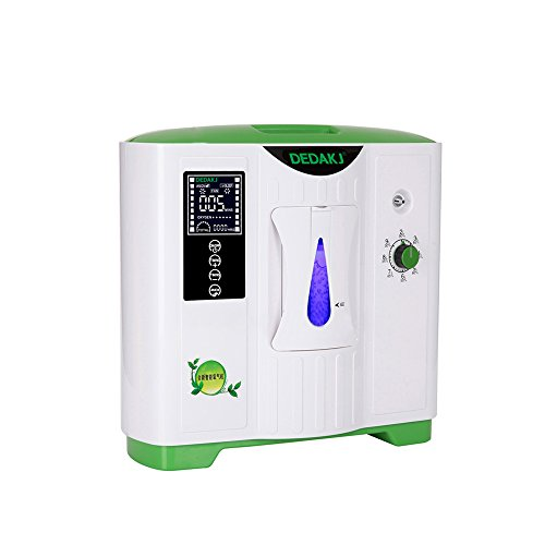 Vogvigo Portable Oxygen Concentrator Generator Home Air Purifier Household Oxygen Machine 9L Constantly Flow 24 Hours Working AC110V